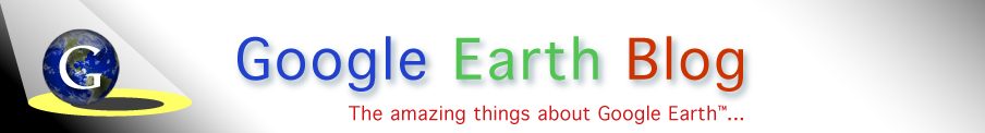 Google Earth Blog Banner - news, features, technology, GIS, GPS, aerial photos, weather and more...