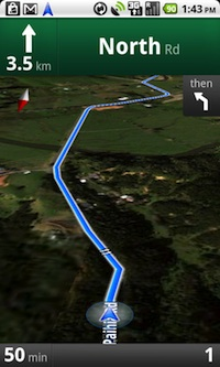 Android Google Maps GPS Navigation example