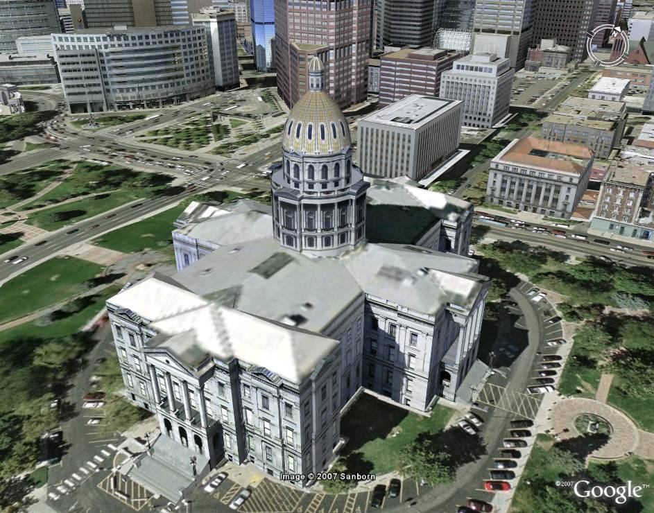 how to download a building from google earth