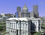 Google Earth 3D Denver Capitol Building 2